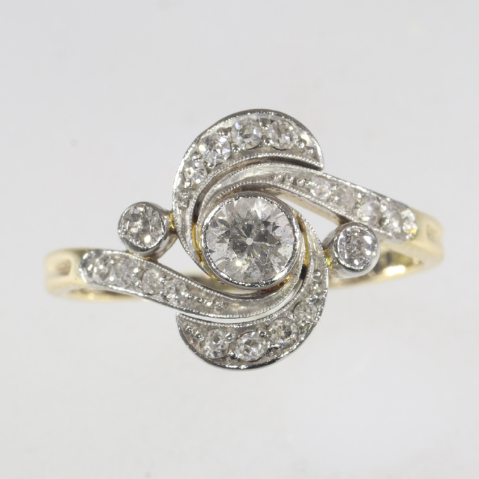 Belle Epoque diamond engagement ring by Unknown