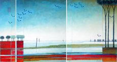 Dat jaar (triptic) - That Year by Magda Luttikhuizen