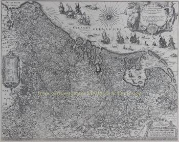 Seventeen Provinces  by  Willem Blaeu