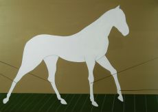 'Such as a horse' by Liu Yan