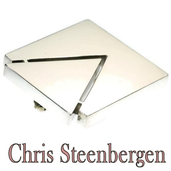 Artist Jewelry by Chris Steenbergen silver brooch by Chris Steenbergen