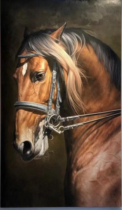 'Stallion-2' by Lin Jin Chun