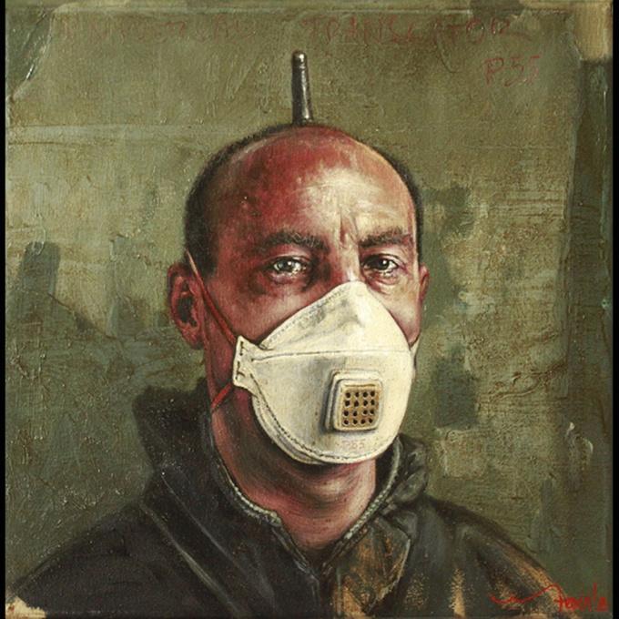 Hedendaags Verleden Painting 7 by Eddy Stevens