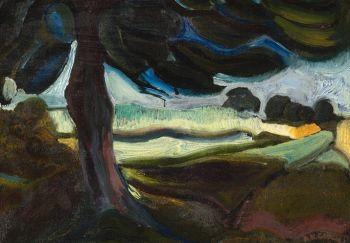Landscape by Herman Gouwe
