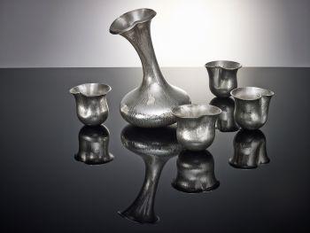 Flowercups & Jug by Paul de Vries