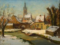 Winter in Edam