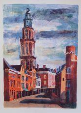 Groningen, Martinitoren by Jeroen Hermkens