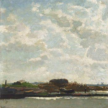 Landscape Amsterdam by Jan Sluijters