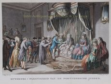 Wedding ceremony of the Portugese Jews by Unknown Artist