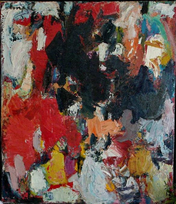 Abstracte compositie I by Jan van Empel