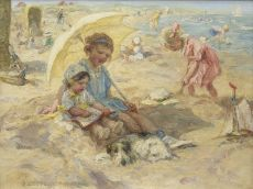 Sunny day at the beach by Jan Zoetelief Tromp