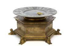 A rare French renaissance-style mystery timepiece, Planchon, circa 1880 by Planchon á Paris