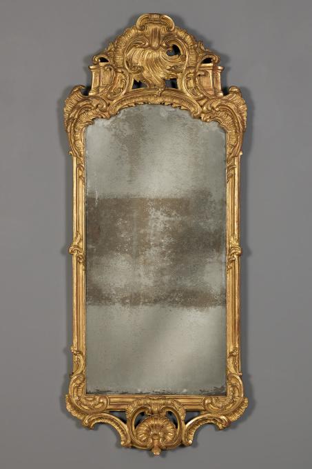 A Dutch Louis XV mirror, ca. 1740 by Unknown Artist