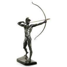Bogenschütz (The Archer) by Ernst Moritz Geyger