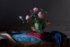 Flowers on a Cushion by Dik Nicolai