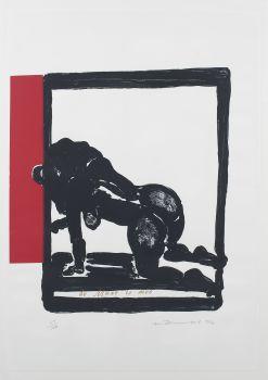 De Muze is moe by Marlène Dumas