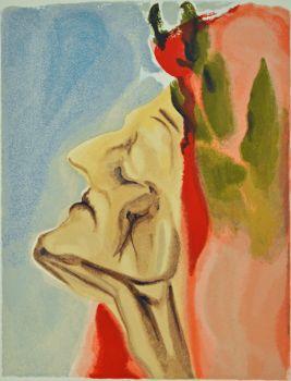 Divina commedia paradiso 07 by Salvador Dali