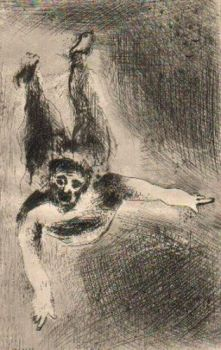 La Colere 2 by Marc Chagall