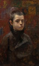 Portrait of a young Blacksmit by Jan Toorop