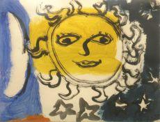 'Zon, maan en de sterren' by Eugene Brands