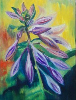 Flower VII by Magdalena Chmielek