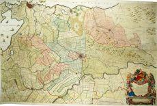 Nieuwe kaart vanden lande van Utrecht by Bernard du Roy
