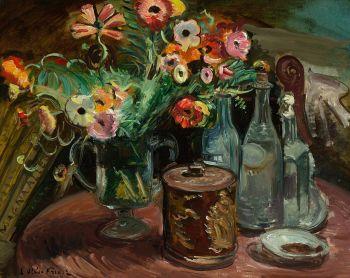 Flowers by Achille Emile Othon Friesz