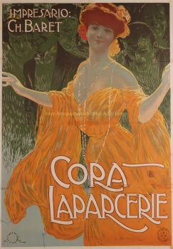 Cora Laparcerie  by  Aleardo Terzi