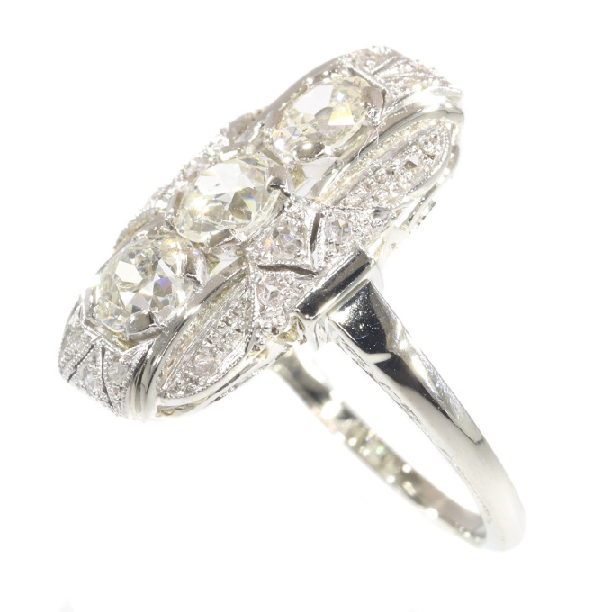Vintage Art Deco diamond engagement ring by Unknown Artist