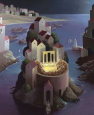Return on a gentle seabreeze by Michiel Schrijver