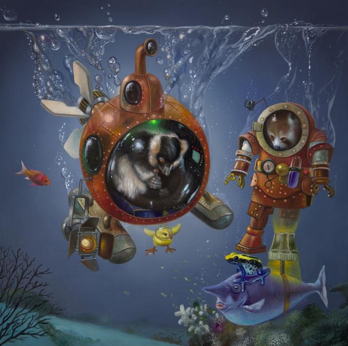 Submarine by Wim Bals
