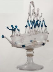 Venetian Shipping Glass by Unknown Artist