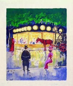 Le Carrousel au Bois de Boulogne  by Kees van Dongen