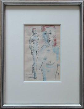 Female nude by Gerard Hordijk