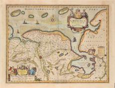 Groningen en Ommelanden  by  Johannes Janssonius