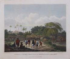 Natives of Cochin China, playing at Shittlecock with their Feet   by Alexander, William (1767-1816)