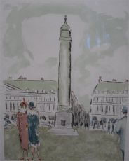 Place Vendome by Kees van Dongen