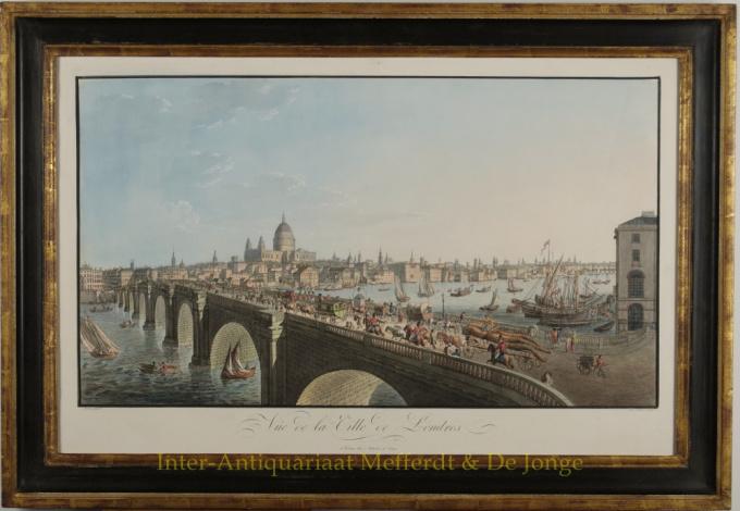 Vue de la Ville de Londres by Friedrich Ferdinand Runk