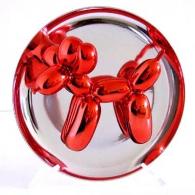 Balloon Dog orange by Jeff Koons