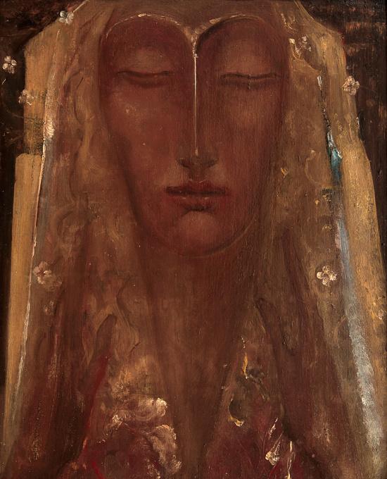 Meditatie by Willem van Konijnenburg