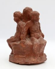 Three children by Johan Keller