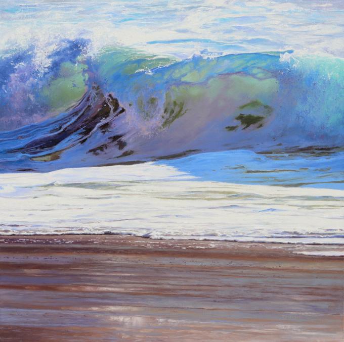 We Need Original oil painting 100 x 100cm  y 2021 by Erika Toliusis