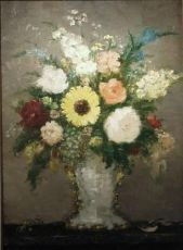 Vase de fleurs by Dietz Edzard