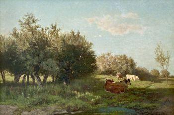 The 'Uiterwaarden' at Oosterbeek (flood plains) by Gerard Bilders