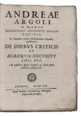 Astrological medicine, covering the theory of critical days as introduced by Galen into the Arabic w