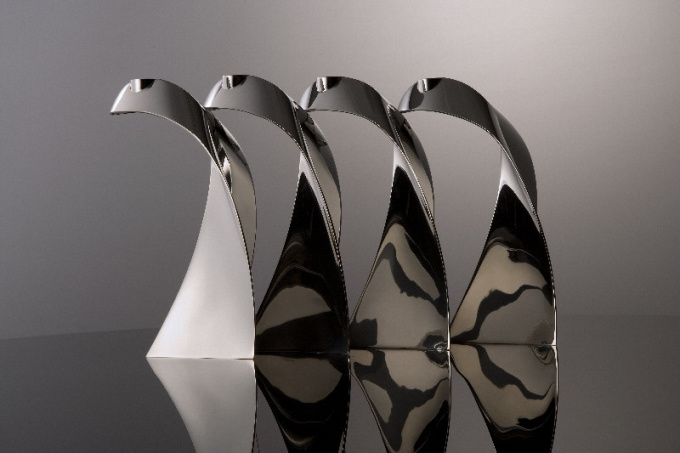set candle stands Open II by Paul de Vries