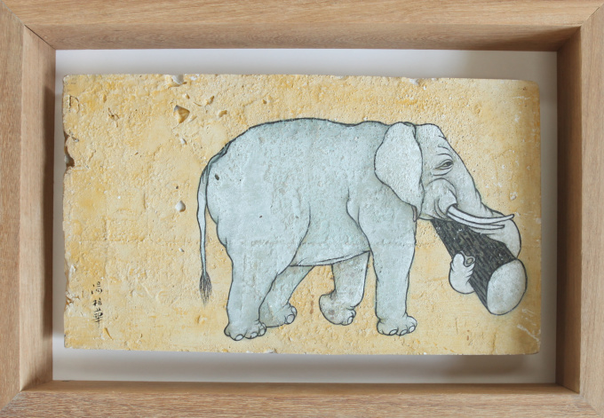 Elephant, The Country of Summer insects by Tang Bohua