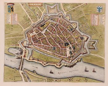 Arnhem  by  Joan Blaeu