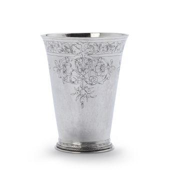 Dutch silver beaker by Jarich Gerrits van der Lely