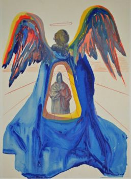 Divina commedia purgatorio 33 by Salvador Dali
